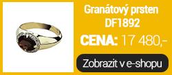 Granátový prsten DF1892